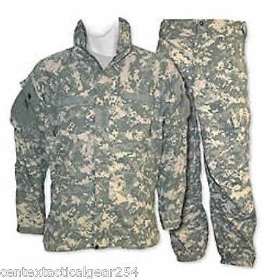 Army GEN III Cold Weather Set Level 5 Digital ACU Jacket & Pants Soft Shell L-R