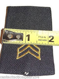 Army Insignia Shoulder Marks Enlisted SGT Rank Sergeant E-5 Dress Uniform Small