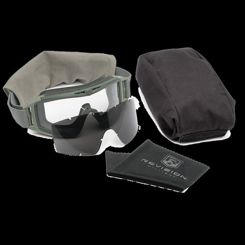 REVISION DESERT LOCUST FOLIAGE GREEN MILITARY GOGGLES