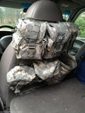 MOLLE Vehicle Seat Panel Modular Webbing Car Truck SUV Jeep Attach Pouches