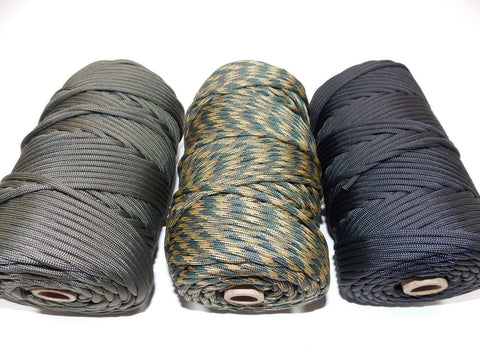 Military 300 Foot Para Cord Spool Survival Rope 550 Cord Nylon 7 Strand 300'