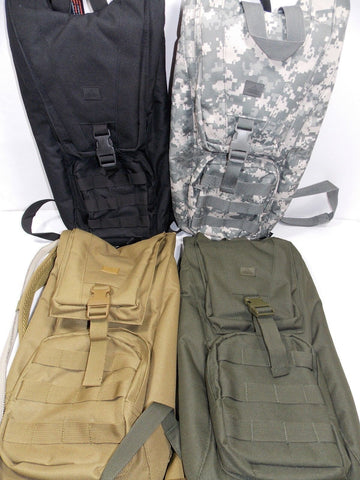 Tactical Hydration Pack Water Carrier Backpack System Complete w/ Bladder