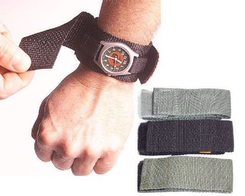 Military Tactical Covered Wrist Watch Band Prevents Scratches Eliminates Reflection