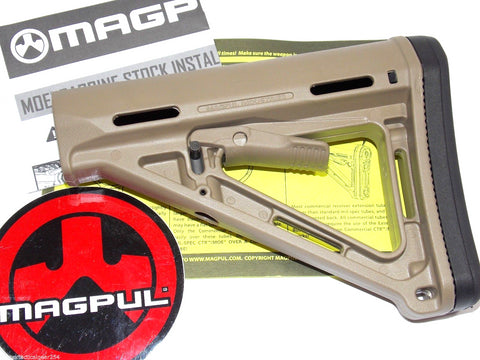 Magpul MOE Dark Earth AR15 M4 Carbine Collapsible Butt Stock