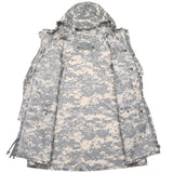 US MILITARY ARMY ACU DIGITAL WET WEATHER JACKET