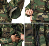 Military Issue Woodland Gore-tex Parka Cold/Wet Weather Jacket