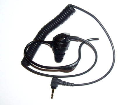 Earbud Assembly for Military Hand Mic