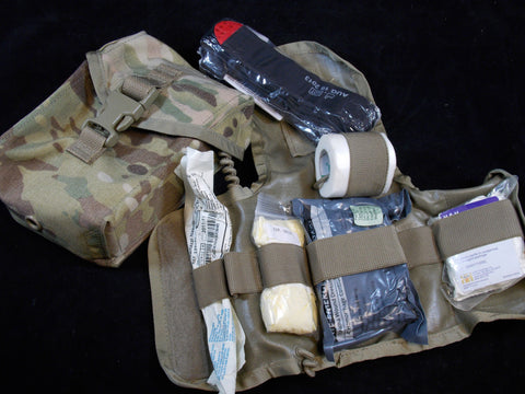 USGI Multicam IFAK Army OCP First Aid Medic Kit