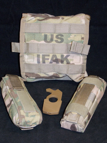 Multicam IFAK II New Improved Soldiers First Aid Kit