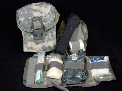 USGI Army Digital IFAK ACU First Aid Medic Kit