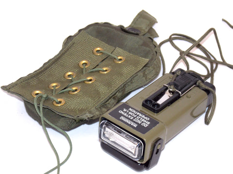 Military Strobe Light Distress Marker Emergency Light FRS-MS2000M Olive Drab