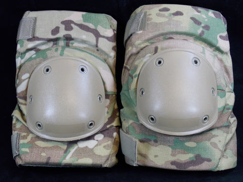 USGI BIJAN'S MULTICAM KNEE PAD SET ARMY OCP