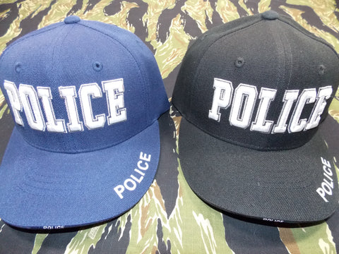 POLICE Embroidered Ball Cap