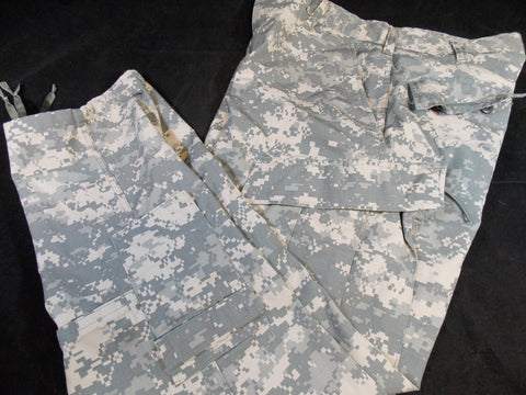 US ARMY ACU DIGITAL COMBAT UNIFORM TROUSERS 50/50 COTTON/NYLON
