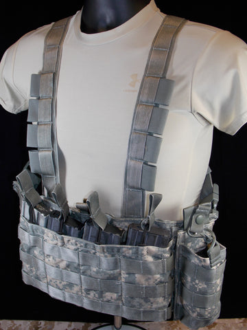 LBT-2586A Army ACU Digital Low Profile Chest Vest