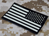 Reverse US American Flag IR Patch Right Shoulder Insignia