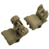 Polymer Front & Rear Pop Up Sight Set