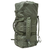 MILITARY ISSUE IMPROVED DUFFLE BAG SIDE ZIPPER OD GREEN