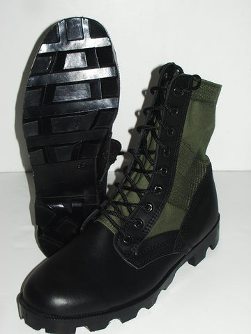 Military Style OD Green Vietnam Jungle Boots