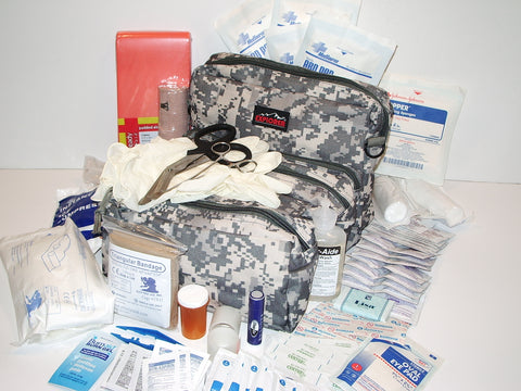 First Aid Kit Medic Bag Fully Stocked