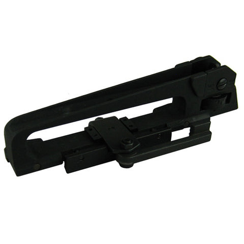 AR Match Grade Detachable Carrying Handle, QD Lever, Rear Iron Sight