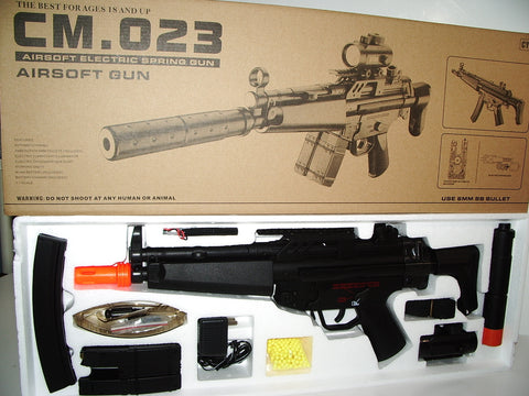 CYMA MP5 Airsoft Rifle