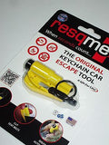 RESQME Strap/Seat Belt Cutter Glass Breaker Key Chain Rescue Tool Life Hammer