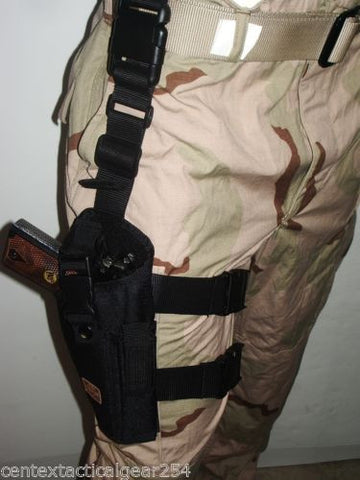 Tactical Drop Leg Gun Holster Pistol Thigh Carrier