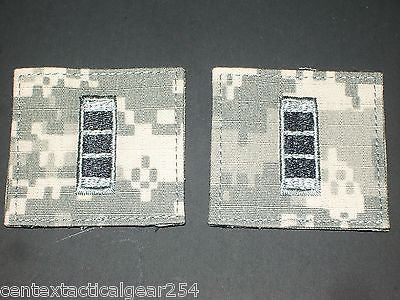 (2) Uniform Patch Rank, Chief Warrant Officer CW3 Army ACU Digital with Velcro®