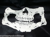 Skull Face Skeleton Bandanna Handkerchief Paintball - Airsoft - Biker - Mask
