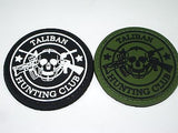 Taliban Hunting Club Military Army Uniform Tactical Velcro Patch 3D Rubber NEW!!