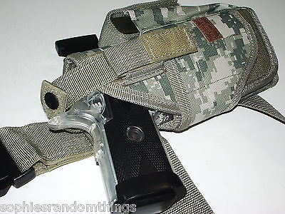 ACU Digital Camo Universal Pistol/Gun Drop Leg Thigh Holster Right Hand