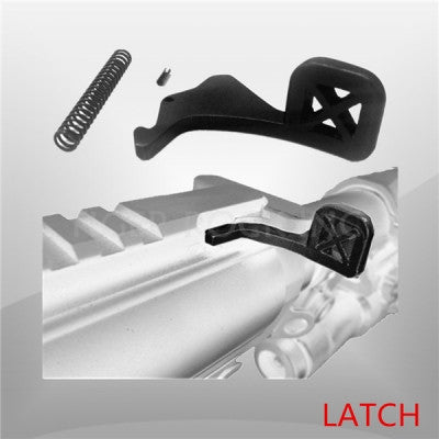 AR CHARGING HANDLE TACTICAL LATCH