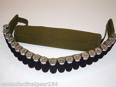 OD Green Olive Drab Universal Tactical Shotgun Sling Holds (21) Shotgun Shells