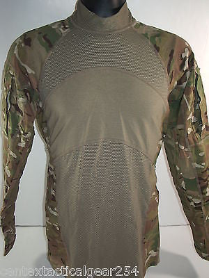 MULTICAM Combat Shirt ACS Army OCP FR Long Sleeve MEDIUM Flame Resistant New