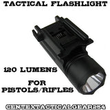 Universal Rail Mount Tactical Flashlight Weapon Light