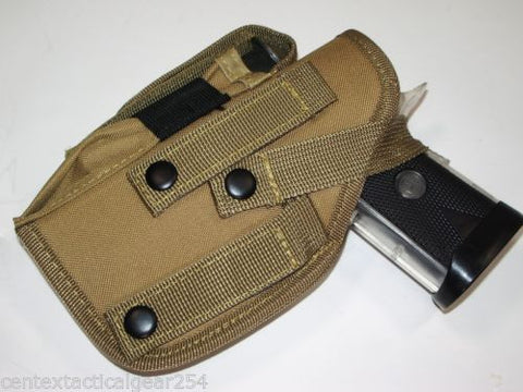 Tactical MOLLE Ambidextrous Pistol Holster