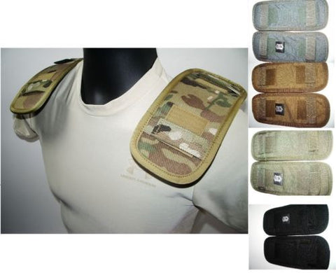 High Speed Gear Plate Carrier/Chest Rig Shoulder Pads