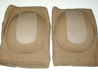 Tan/Coyote Brown Combat Tactical Lightweight Neoprene Knee Pads Knee Pad Set