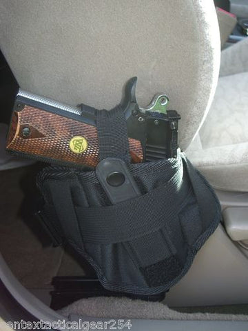 Vehicle Carry Truck Car Seat Hand Gun Conceal Pistol Holster Ambidextrous