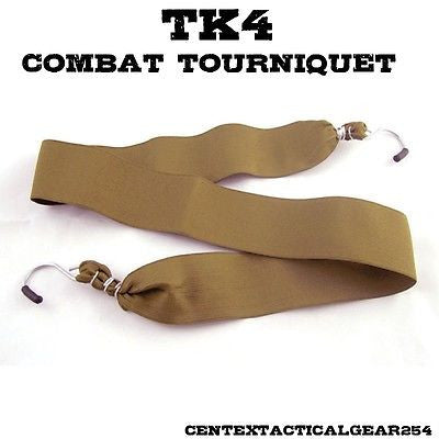 H&H TK4 One Handed Tactical Combat Tourniquet for Severe Bleeding IFAK First Aid