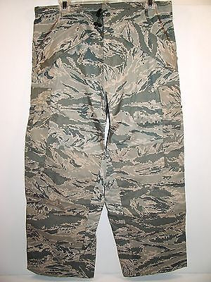 Air Force Tiger Stripe Gore-Tex Trousers All Purpose Environmental XSmall/XShort