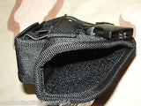 Black MOLLE Tactical Universal Pistol/Gun Holster Ambidextrous Right or Left