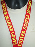 Military Armed Forces Detachable Key Ring Lanyard Army Marines Air Force POW MIA