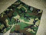Military Woodland Camouflage GORE-TEX Trousers BDU GORETEX Pants Large/Regular