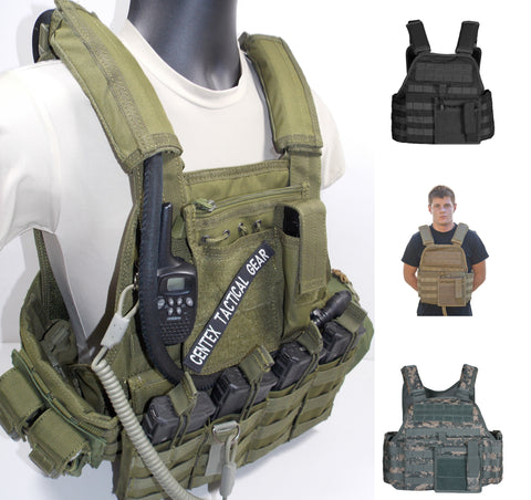 Modular Body Armor Plate Carrier Tactical Vest