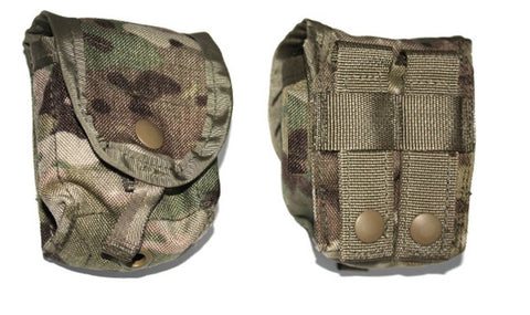 ARMY OCP MULTICAM MOLLE FRAG HAND GRENADE POUCH 8465-01-580-0697