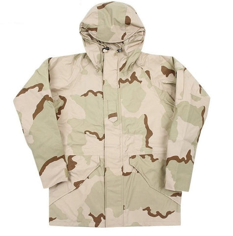 US MILITARY DESERT CAMOUFLAGE GORE-TEX JACKET