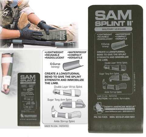 Sam Splint II Military Version