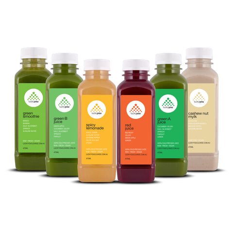 LYC 1-6 DAY JUICE CLEANSES